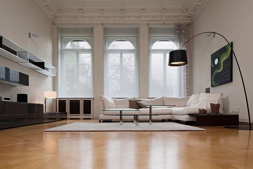 Wohndesign: Horizontal-Jalousien